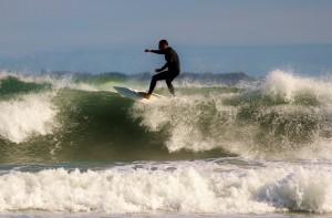 Surf vagues