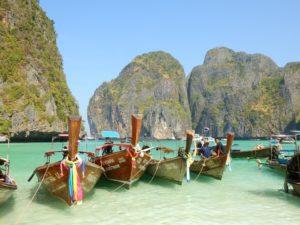 bateaux ile koh phi phi