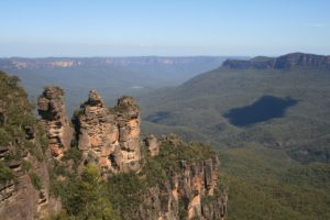 Three sisters en Australie