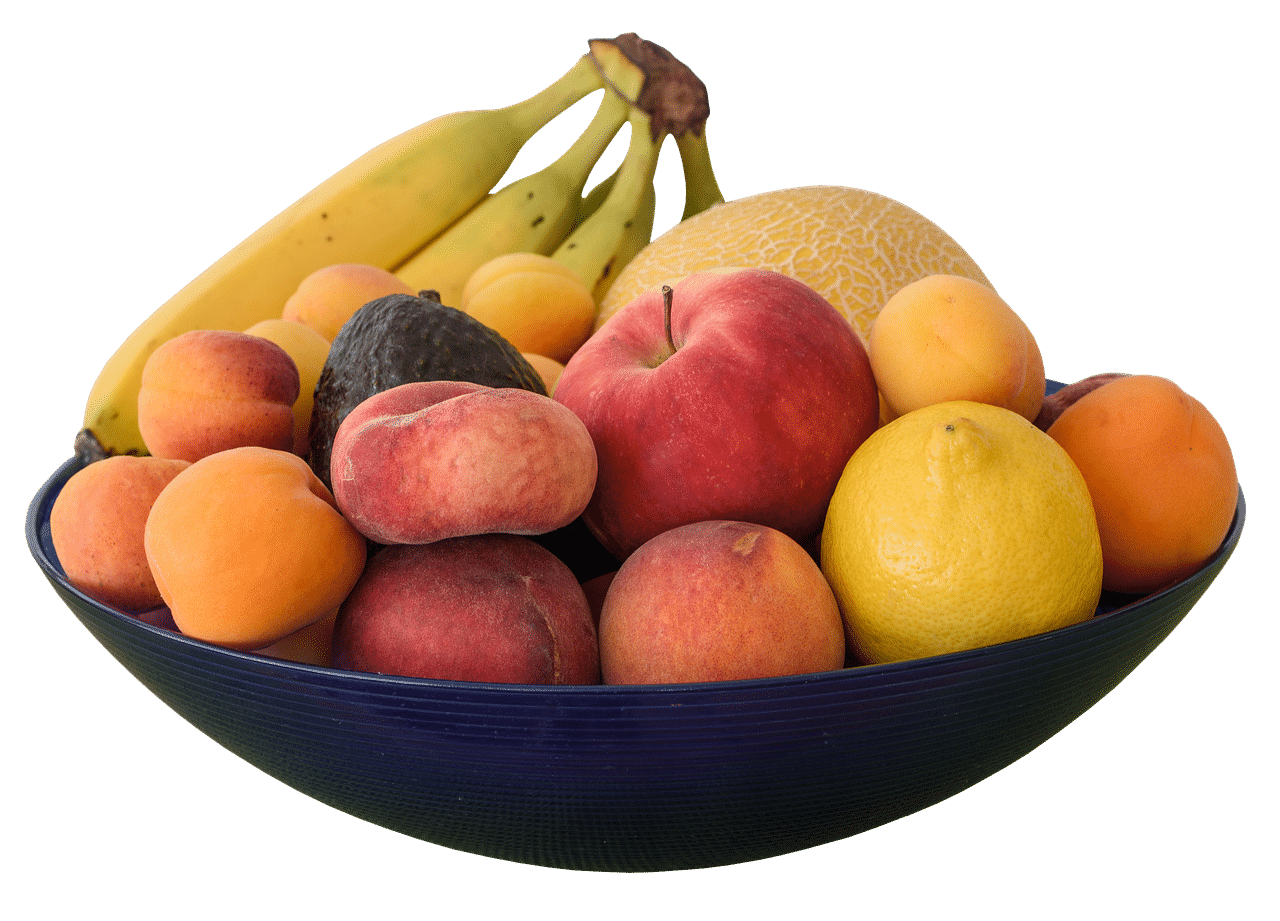 une corbeille de fruits