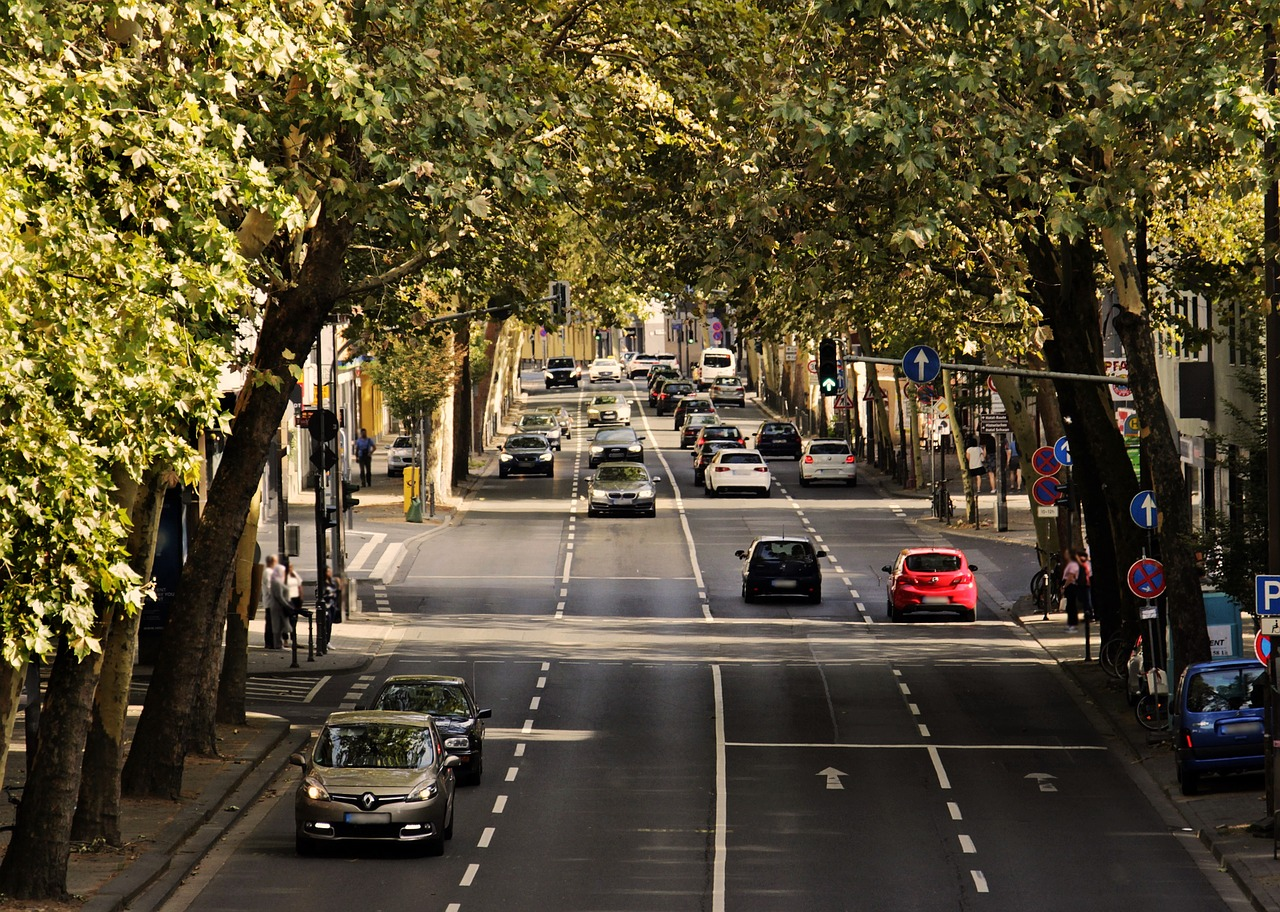 Trafic routier en ville