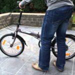 Zoom sur les vélos pliant Btwin de Décathlon