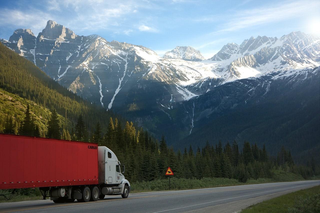 Camion au Canada