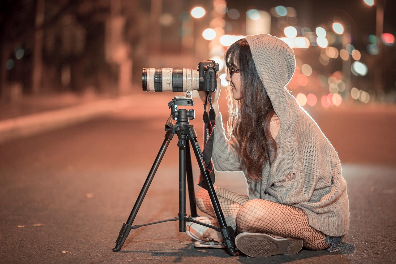 Jeune photographe