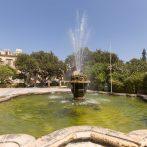 Floriana: les jardins Argotti - île de Malte