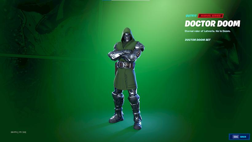 Doctor Doom Fortnite Saison 4