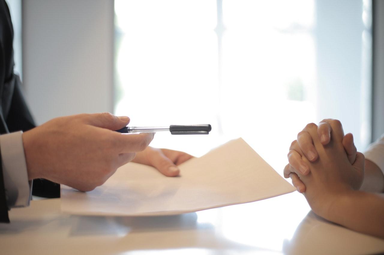 Contrat pour débuter son prêt