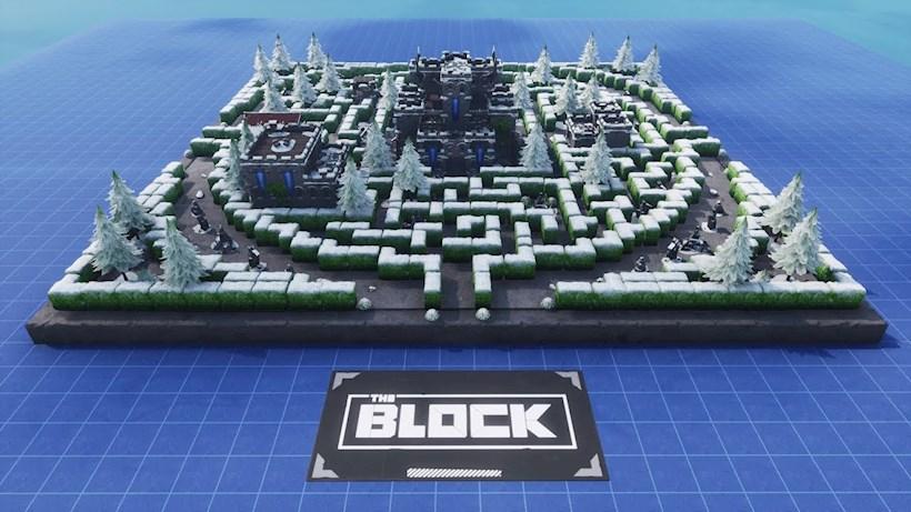 Labyrinthe seigneurial à Fortnite