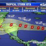 La tempête tropicale Iota se forme dans les Caraïbes