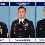 L'armée américaine identifie 5 Américains tués dans un accident d'hélicoptère en Egypte