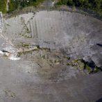 Une vidéo montre des câbles de l'observatoire Arecibo se brisant, déclenchant un effondrement