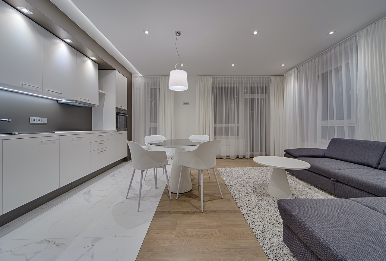 Appartement gris