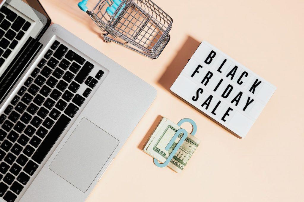 Black friday shopping solde