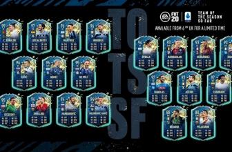 FIFA 20 Ultimate Team: Équipe de la saison jusqu'à présent Serie A.
