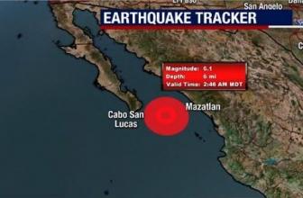 Un séisme de magnitude 6,1 frappe l'océan à l'ouest du Mexique