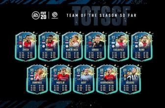 FIFA 20 Ultimate Team Équipe de la saison à ce jour: Eredivisie