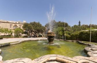 Floriana: les jardins Argotti – île de Malte