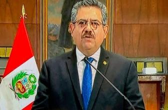 Le président par intérim du Pérou, Manuel Merino, annonce sa démission après un bouleversement national