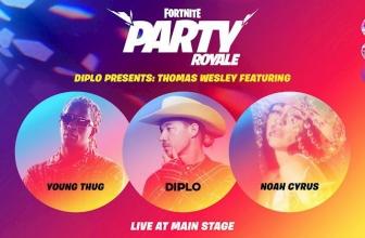 La première Fortnite en direct de Diplo présente: Thomas Wesley le 25 juin