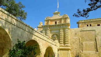 Mdina, patrimoine historique de Malte