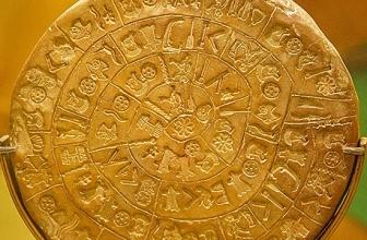 Mythologie crétoise: le disque de Phaistos
