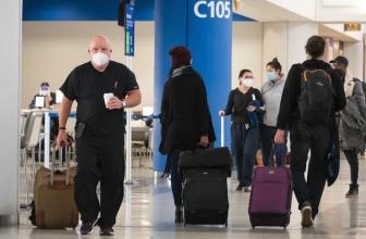 Les voyageurs britanniques doivent avoir un test négatif pour le COVID-19 avant d'entrer aux États-Unis, selon le CDC