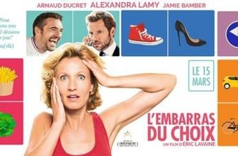 L'embarras du choix – Le film avec Alexandra Lamy sortie 2017