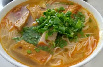 Les restaurants célèbres de bún chả cá à Da Nang